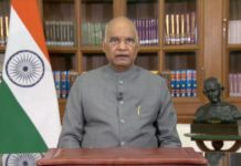 President Ram Nath Kovind addresses the nation