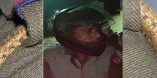 drunker inspector chased woman