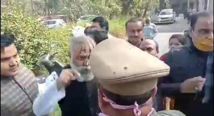 Aam Aadmi party MLA Somnath Bharti