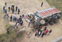 Raebareli truck accident