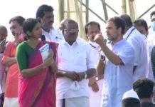 Rahul Gandhi addresses fishermen in Kerala
