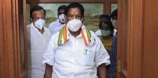 Congress government falls in Puducherry