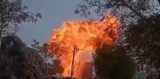 Serial cylinder blast