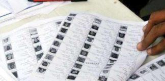 voter list disturbances