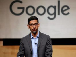 letter to ceo sunder pichai