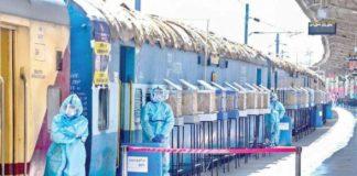 train coach convert to isolation ward