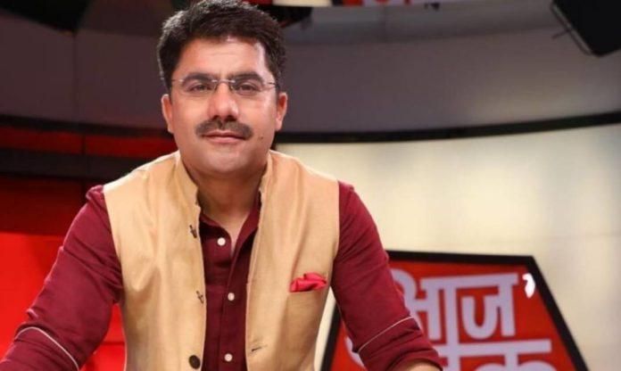 Death of famous news anchor rohit sardana