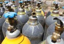 Explosion in Oxygen Cylinder