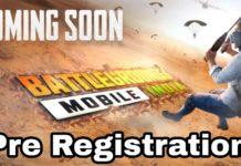 Battleground mobile India pre-registration