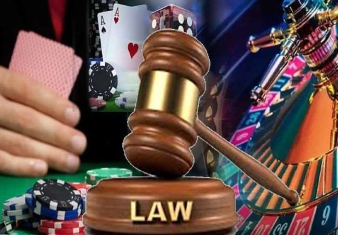 law on online gambling in up