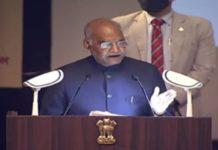 President Ram Nath Kovind in Lucknow