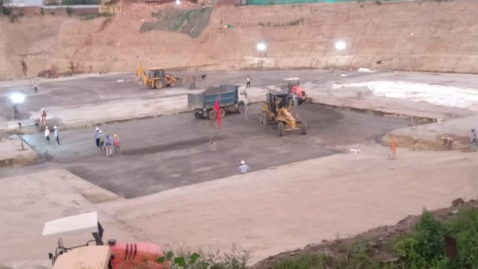 Shri Ram Mandir construction