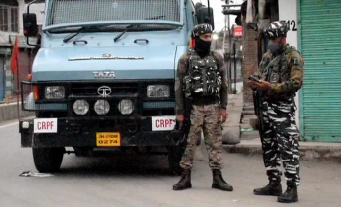 security forces and terrorists