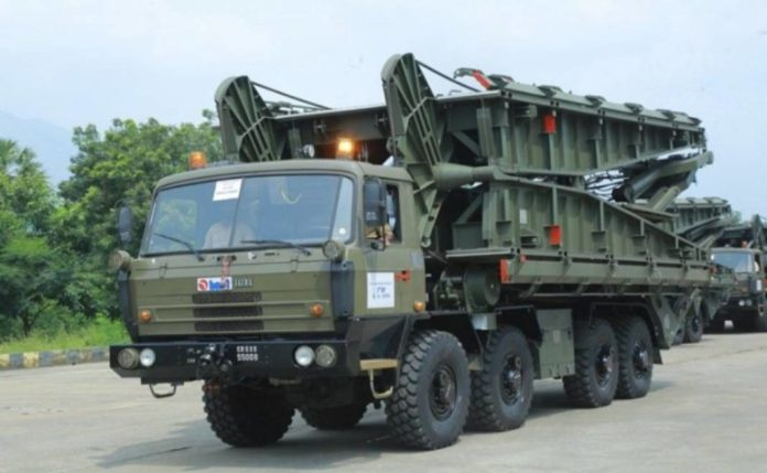 Short Span Bridging System Incorporated in Army