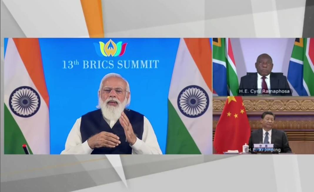 India chairing the 13th BRICS summit